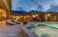 Very private, beautiful area for entertaining. Built in BBQ, bar, pool, Jacuzzi