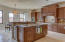 Fabulous kitchen with double convection oven, Subzero and Thermador appliances