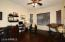 Home Office/could be easily converted to 4th Bedroom