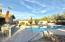 Resort style backyard with unobstructed views of Four Peaks