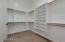 Owner's Suite Walk-In Closet