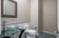 """This is the powder room that is between the kitchen & """"Kids"""" or """"Guest"""" wing."""