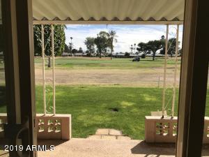 Double fairway backyard view