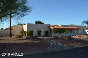 Beautifully Landscaped Easy Care Desert Front Yard