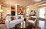 Crown Moulding, wood windowsills, surround sound