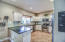 Beautiful chef's kitchen that is perfect for making delicious family meals.