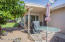 Space to entertain on a paver patio extended from the Lanai! With a remote control shade!