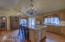 Under Cabinet Lighting & Large Picture Window w/Backyard Views