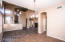 Beautiful formal dining area! Just around the corner from the family room & living area.