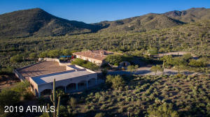 You'll be thrilled by this home's unique location with towering mountains to the North, perched on the historic Rowe Wash, with classic desert vegetation surrounding your peaceful enclave!