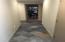 Hallway in office area