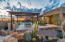 Backyard professionally landscape to entertain family and friends.