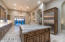 Beautiful kitchen with custom cabinetry featuring beautiful hardware