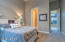 Spacious bedrooms with ample closets and beautiful windows