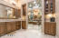 Beautiful cabinetry in kitchen area