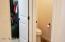 Separate toilet room in master bath!