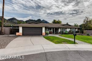 This ranch style charmer offers gorgeous, high-end finishes in a fantastic, highly sought-after North Central Phoenix location! Situated in the popular Northern Foothills neighborhood, this incredible home has been updated in a soft modern style. With stunning mountain views and convenient access to the 51, this home has everything you need!