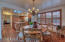 Casual dining area off the kitchen