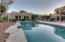 Detached guest house with patio & easy pool access