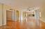Wonderful family room space and double door den.