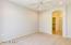 Roomy first floor master bedroom suite