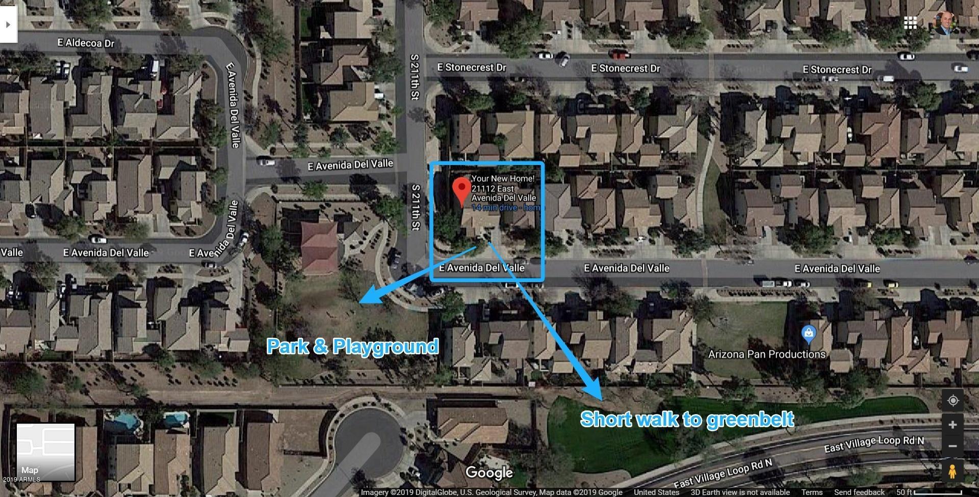 Map Of Arizona Cities Queen Creek.21112 E Avenida Del Valle Queen Creek 85142 Sold Listing Mls 5896035 Better Homes And Gardens Bloomtree Realty