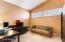 Den / office with double doors