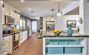 Remodeled Kitchen with Custom Cabinetry
