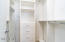 master bedroom #1 closet