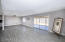 Expansive great room with breakfast nook