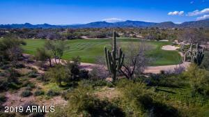 Stunning and dramatic Desert Forest Golf Course on the Northern border of the home.