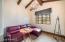 Master private lounge area