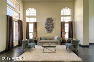 Beautiful Dual Arched Windows
