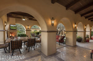Multiple outdoor areas for entertaining from small intimate dinners to large gatherings.