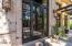 CUSTOM LUXURY DOOR. GATED COURTYARD