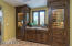 BUTLER PANTRY WITH DOUBLE WINE COOLERS. CUSTOM CABINETS. GRANITE COUNTERS