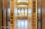 MASTER SUITE DOUBLE DOOR ENTRANCE TO LARGE SPA BATHROOM. HIS/HER WALK-IN CLOSETS. LARGE JETTED TUB