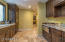 BUTLER PANTRY WITH 2 WINE COOLERS. GRANITE COUNTERS. BREAD WARMER