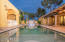 LUXURIOUS POOL AND SPA. REAR GUEST HOME. MAIN HOME. COVERED PATIOS