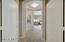 Elegant double door rotunda entrance into the master suite.