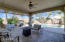 Extended patio area makes out door living / al fresco dinning and entertaining a breeze