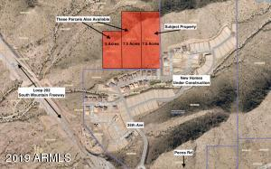 20 Acres available in one block. Subject property is 7.5 acre parcel on the right
