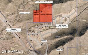 20 Acres available in one block. Subject property is 7.5 acre parcel in the middle