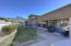 Open grassy area off the kitchen/family room