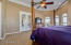 French doors to patio from master suite