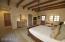 High Wood Beam Ceilings, Wet Bar, Mini Fridge, Walk-In Closet And Private Bath