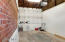 Spacious garage with Vaulted ceiling and tons of storage
