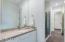 Jack & Jill - vanity/sink for bedroom 2.