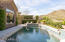 Sparkling Pool with In-Floor Cleaning System