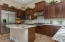 Gourmet Kitchen with Upgraded Cabinetry and Granite Countertops